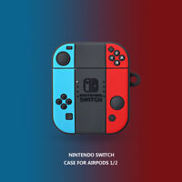 Nintendo Switch Earphone Cover for Apple Airpods Charging Case Holder Bag Skin
