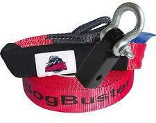 SNATCH STRAP HITCH RECEIVER 10 METER 5000 KG RECOVERY BOGBUSTER 4X4 KIT WINCH