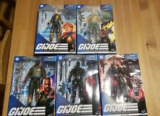 G.i. Joe Classified Wave 1 and Extras
