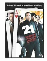 21 (DVD) Kevin Spacey Laurence Fishburn DISC & ARTWORK ONLY NO CASE