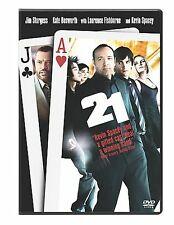 21 (DVD, 2008, Single Disc Version)