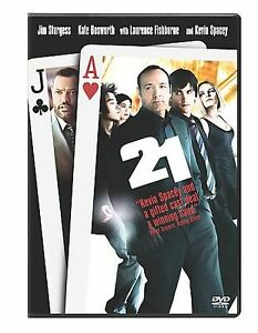 21 (DVD, 2008, Single Disc Version) disc only