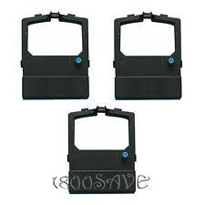 3 52106001 BLACK Ribbon Compatble OKI Okidata Microline ML590 ML 591 592 520 521