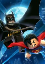 Lego Batman & Superman Poster G356