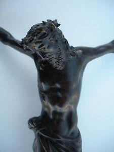 Rare 17th Century Small Bronze Corpus Jesus Christ !