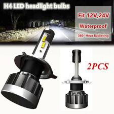 2PCS H4 LED Car Headlight Conversion Kits Modified Bulbs White Power 6000K 110W