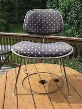 Vintage Mid Century Modern Herman Miller Charles Eames Upholstered DCM Chair