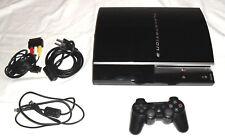 Playstation 3 console (1 To) + FW 3.55 + Sony Contrôleur 80 Go 1000 Go CECHL 04