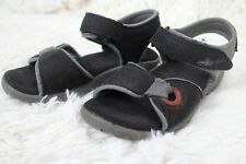 BOGS Yukon Sandals Outdoor Strap Leather Shoes Boys Size 12 Black