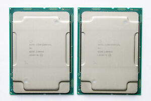 2x Intel Xeon Platinum 8268 QQ9E ES CPU 2.6GHz (24C/48T) LGA3647 Dell HPE LENOVO