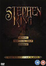 Stephen King Collector's Set The Dark Half (DVD, 2006, 4-Disk Set, Box Set Edition)
