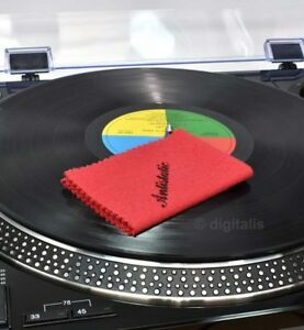 Vinyl Kleen Record Cleaning Anti-Static Cloth Cleaner