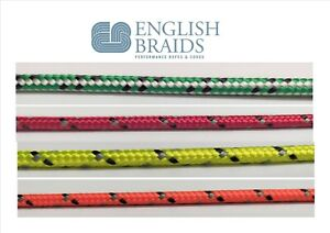 English Braids 16 plait Sprintline Rope Sold by the metre Dinghy control line