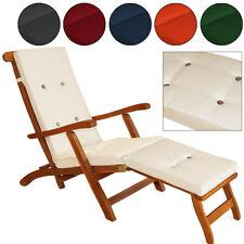 Detex® Coussin chaise longue 173 cm Couleur au choix Transat Bain de soleil