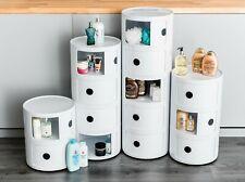 Armario de baño moderno de Plástico Estante Alacena Almacenamiento Inodoro Unidad Pié