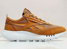 REEBOK CLASSIC LEATHER LEGACY TRAINERS OCHRE GOLD SIZE 10 EUR 44.5 RRP £89.95