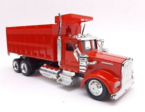 Popak New Ray Kenworth Semi Truck Diecast Dump Trash Truck *READ*