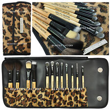 12PCS Professional Superior soft Cosmetici Make Brush Set Kit + Astuccio Borsa