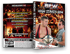 Official RPW - High Stakes 2014 Event DVD (Sting, Ricochet, Dutt, Young Bucks)