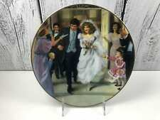 Rob Sauber Portraits Of American Brides Sarah Decorative Collectible Plate USA