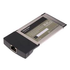 Carte réseau lan card 32bit 10 / 100mb Carte adaptateur pcmcia rj-45 rj45