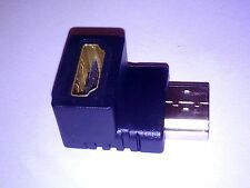 HDMI Male to Female Right Angle Adaptor 90 Degrees for TV DVD XBOX PS4 SKY PC