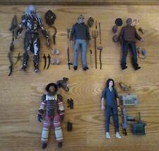 NECA Predator, Alien 40th, Friday The 13th 5 Figure Loose Complete Lot!!!