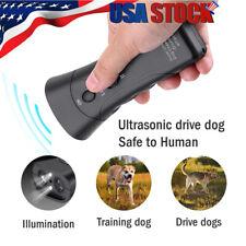 Anti Dog Barking Pet Trainer LED Light Ultrasonic Gentle Chaser Pet Gentle Style