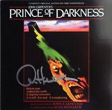 PRINCE OF DARKNESS Signed CD JOHN CARPENTER + ALAN HOWARTH Soundtrack Score NEW!