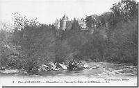 CPA 89 - Chastellux Vue sur la Cure et le chateau