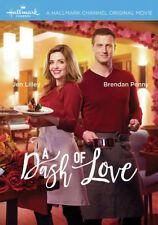 A Dash of Love 2017 (Hallmark DVD) Jen Lilley, Brendan Penny, Peri Gilpin - New!