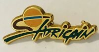 Africain Africa Souvenir Advertising Pin Badge Vintage (C24)