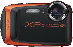 Fujifilm XP90 Orange includes strap case 16gb memory card