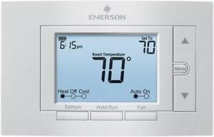 Emerson 1F85U 42PR, 80 series programmable thermost 24-Volt, 4 heat - 2 cool