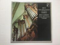 LP Vinyl Bach en ré mineur Toccata & Fuge Rene Saorgin Silbermann Orgel Colmar