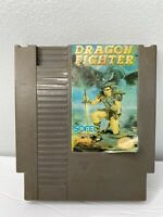 Rare Dragon Fighter NES Nintendo Entertainment System, 1992 Tested See Last Pics