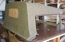 1966-1969 1¼ Vietnam Truck M715 Canvas Cab Top Mil Spec OD