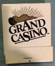 Grand Casino - Advantage Players Club - Matchbook