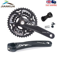 MTB Bike Triple 10 Speed Crankset Chainset & BB 104/64BCD 24/32/42T Chainring