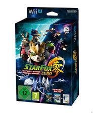 Nintendo Wii U Starfox Zero First Print Edition Star Fox Limited Game