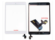 iPad Mini 1 Retina 2 Touchscreen Digitizer Glas Touch Scheibe IC-Chip Weiß
