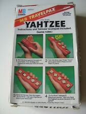 Vintage YAHTZEE Travelpax with Instructions - Ideal Xmas Gift