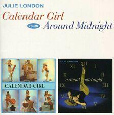 Calendar Girl + Around Midnight - Julie London (2013, CD NEUF)