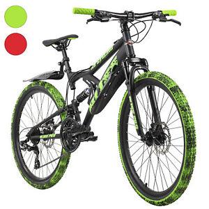 Mountainbike Fully 24 Zoll Bliss Pro 21 Gänge RH 38 cm M184K