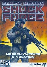 Combat Mission Shock Force (PC Game) NATO Perspective Modern Warfare Simulation