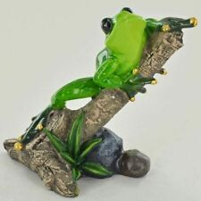 More details for forest frogs figurine frog ornaments unusual statue animal toads garden outdoor