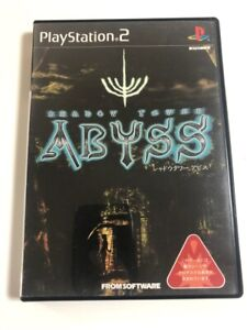 Playstation PS2 Shadow Tower Abyss From software Japanese Version