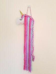 Unicorn purple Hair clip Accessories Holder Storage organise wall decor gift