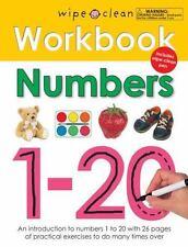 Wipe Clean Workbook Numbers 1-20 ( Priddy, Roger ) Used - VeryGood