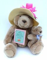 """BEARNADETTE CUDDLESWORTH and BABY FUZZMORE"" Hallmark Stuffed Animal"